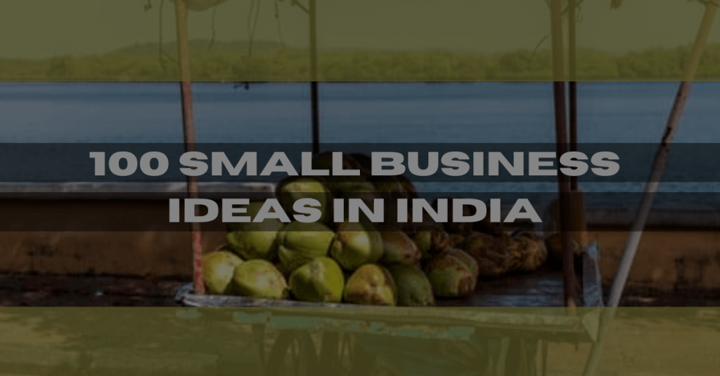 100 business ideas in Hindi