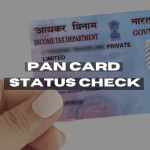 Pan card status kaise check kare