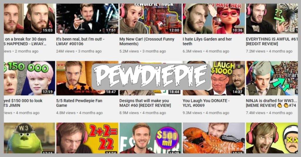Pewdiepie Net Worth hindi
